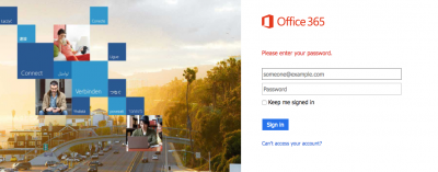 Office 365 user identity managment